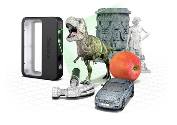 Skener dokáže zachytit objekty všech možných velikostí. Zdroj: 3D Systems