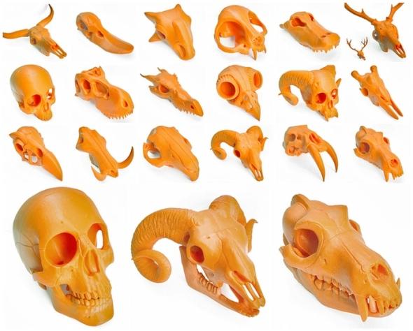 Série modelů Boneheads 2 úspěšně sbírá prostředky pro realizaci mezi komunitou nadšenců (zdroj: 3DKitbash.com)