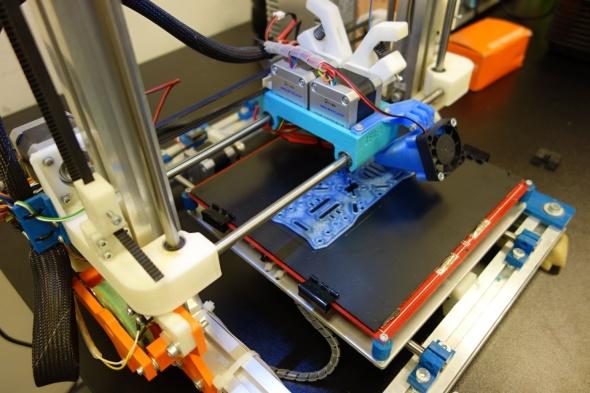 K vidění v akci byl i vývojový model tiskárny Rebel III (foto: Tomáš Vít)