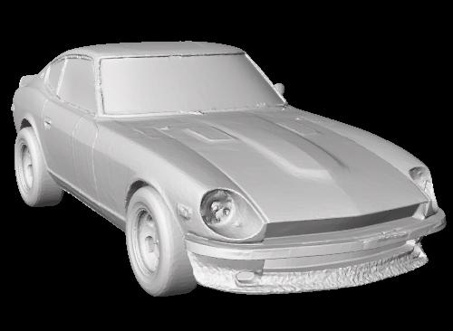 Služba ScanningCars.com nabízí skenované modely aut pro 3D tisk (zdroj: ScanningCars.com)
