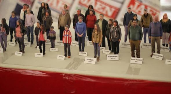 Všech 320 občanů španělské vesnice Torrequebradilla má svého 3D dvojníka (foto:  Sicnova 3D)