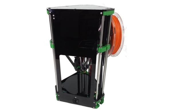 Tiskárna Fisher Delta nabídne tiskový prostor o průměru 150 mm a výšce 180 mm (zdroj: RepRapPro)