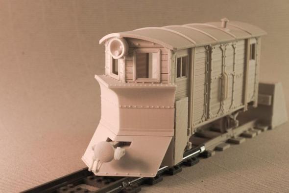 Nad modely lokomotiv, vagonů, kolejí a výhybek zaplesá srdce nejen pravověrným železničním modelářům (foto: Euroreprap.eu)