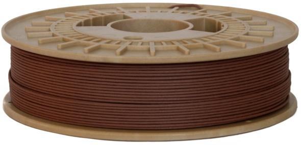 Tiskové struny z materiálu imitujícího dřevo se vyrábějí v Česku pod značkou Timberfill (zdroj: Fillamentum)