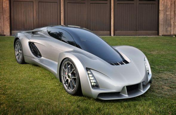 Supersport Blade je zajímavý i z pohledu atraktivního designu – na rozdíl od mnohých starších konceptů vozů vyrobených s využitím aditivní výroby (zdroj: Divergent Microfactories)