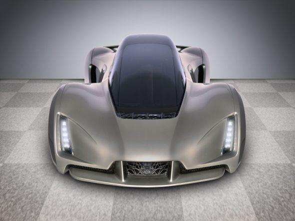 Supersport Blade o hmotnosti pouhých 635 kilogramů pohání motor se 700 koňskými silami (zdroj: Divergent Microfactories)