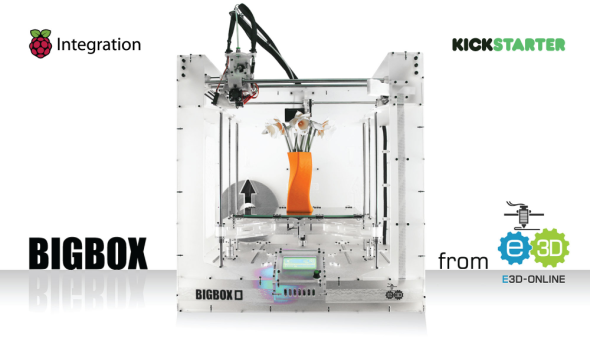 Požadované prostředky na dokončení vývoje dokázali tvůrci získat za pouhých několik hodin (zdroj: BigBox3D)