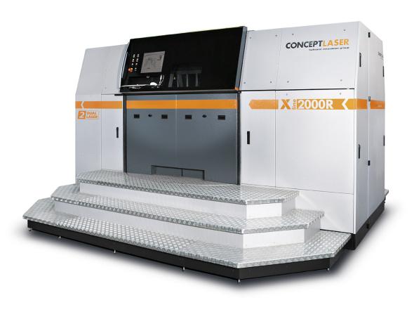 Model X line 2000R zvětšuje stavební prostor pro aditivní výrobu kovových prototypů až na 800 × 400 × 500 milimetrů