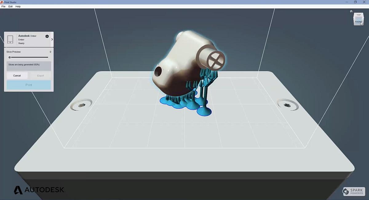 Součástí nových Windows 10 je i platforma Autodesk Spark pro 3D tisk