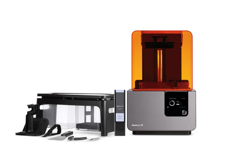 Nová stereolitografická tiskárna Form 2 zvětšuje stavební objem o více než 40 %