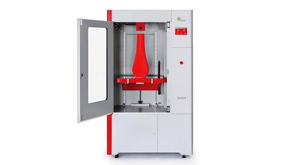 Vylepšená tiskárna DeeRed nabídne tiskový objem 400 × 600 × 800 milimetrů (foto: Be3D)