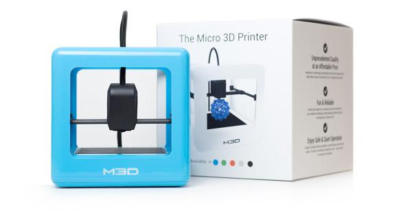 Analytici očekávají růst dodávek nejlevnějších spotřebitelských 3D tiskáren, mezi které patří s cenou od 349 dolarů (bez daně a poplatků) také na Kickstarteru úspěšné zařízení Micro 3D (foto: M3D LLC)