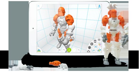 Postavičku si můžete navrhnout z nepřeberného množství dílů a jejich kombinací (obrázek: Autodesk)