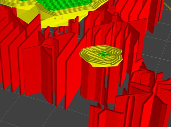 3DimMaker nabízí vlastní plátkovač (slicer) s komplexním řešením tenkých částí a podpor (zdroj: 3Dim Laboratory)
