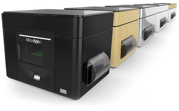 Novinka Mcor Arke má lépe zapadnout do ateliérů a kanceláří díky široké paletě barevných variant zařízení (foto: Mcor)