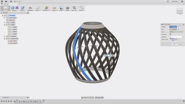 Fusion 360 nadchne mj. pokročilými možnostmi úprav při modelování v prostoru (obr.: Autodesk)