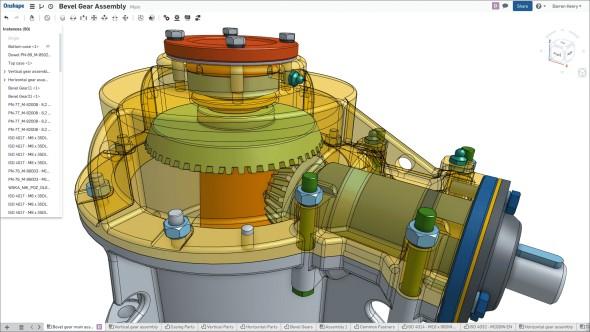 OnShape je první profesionální CAD aplikací, která běží přímo v okně vašeho prohlížeče (obr.: OnShape)