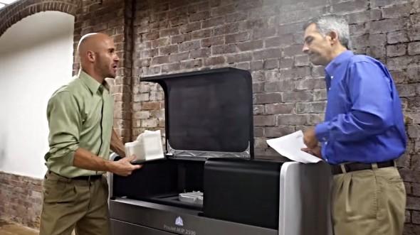 Výhodou nové řady 3D tiskáren ProJet má být snadné využití přímo v kancelářských prostorách (obr.: 3D Systems)