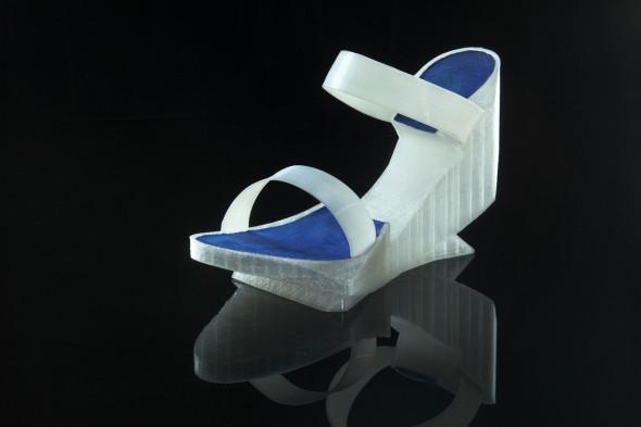 Boty vytištěné na stolní 3D tiskárně budou tématem přehlídky i jedné z přednášek (autor návrhu: Oldřich Anton Vojta)