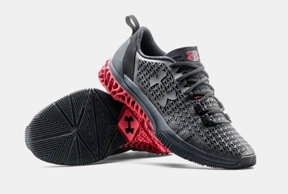 Sportovní boty Under Armour Architech vyrobené s využitím 3D tisku (foto: Under Armour)