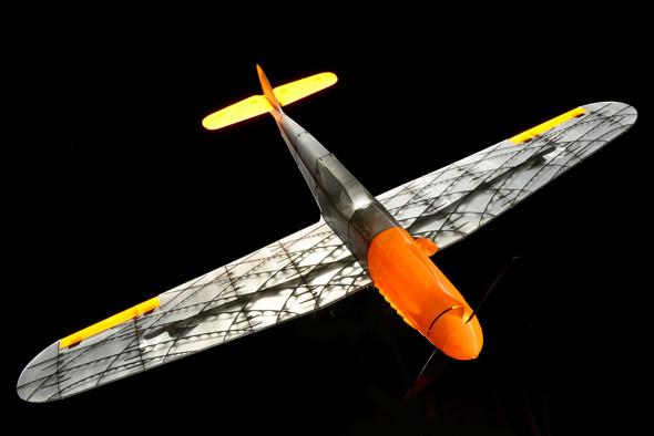 RC modely Štěpána Dokoupila vsází na odlehčenou konstrukci zesílenou vnitřními nosníky (foto: 3DLabPrint)
