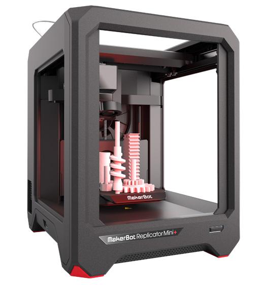MakerBot Replicator Mini+ míří do oblasti výuky 3D tisku z termoplastů (foto: MakerBot)