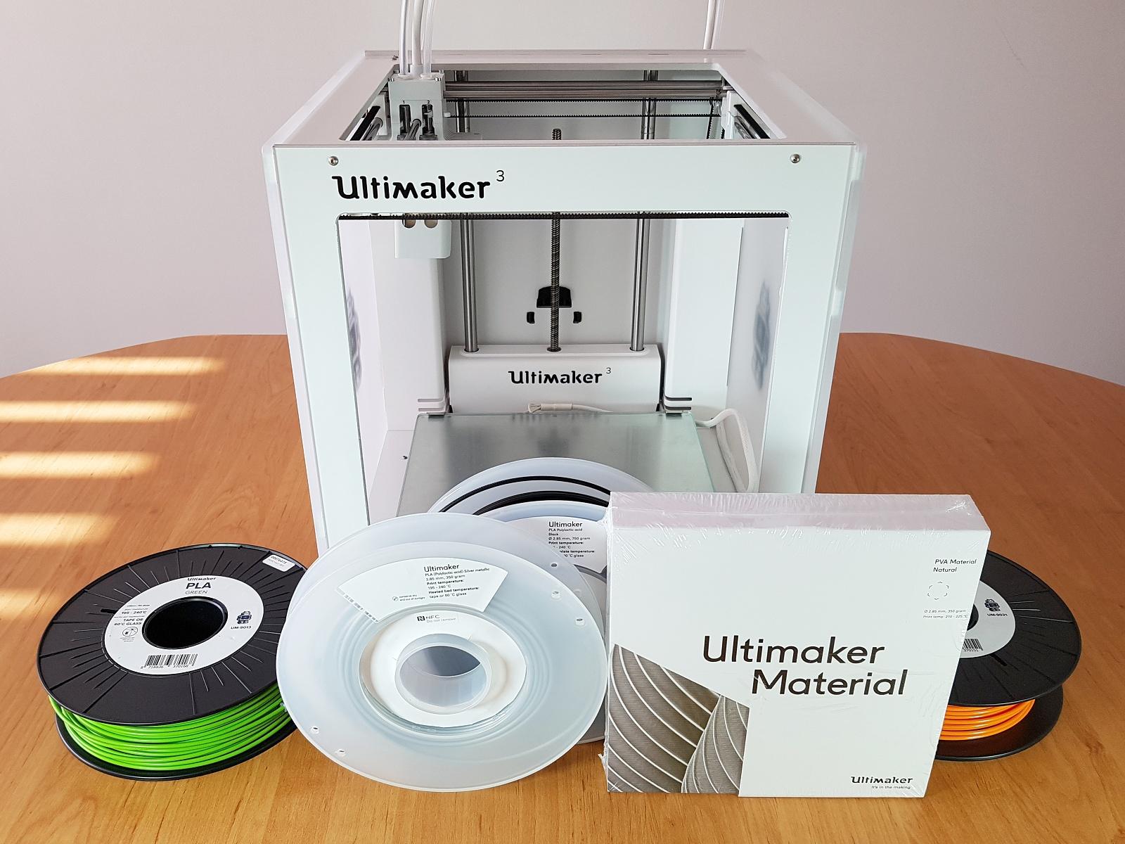 Ultimaker přináší slíbená rozšíření pro své profesionální stolní 3D tiskárny 3. generace