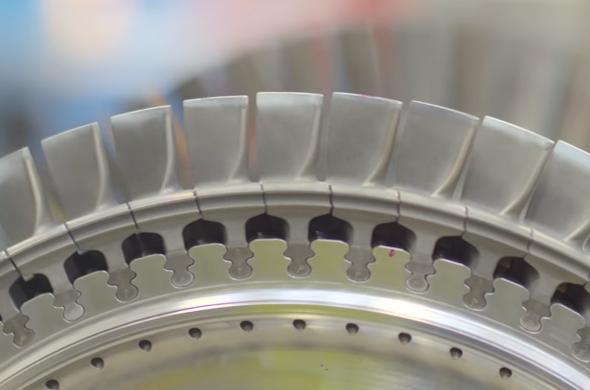 Siemens vyrábí 3D tiskem lopatky do plynových turbín