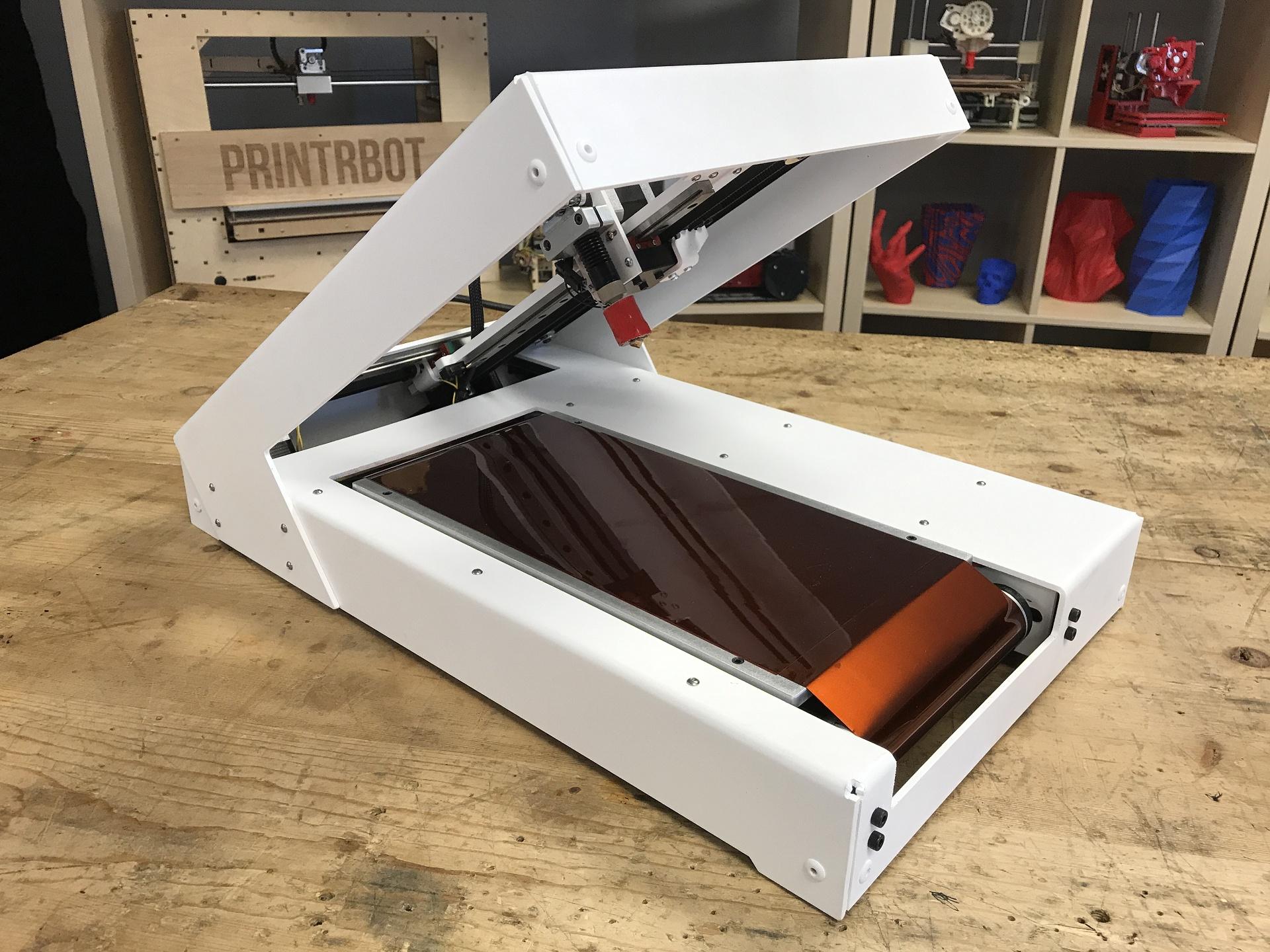 """Printrbelt a Blackbelt: 3D tiskárny s """"nekonečnou"""" osou Z"""