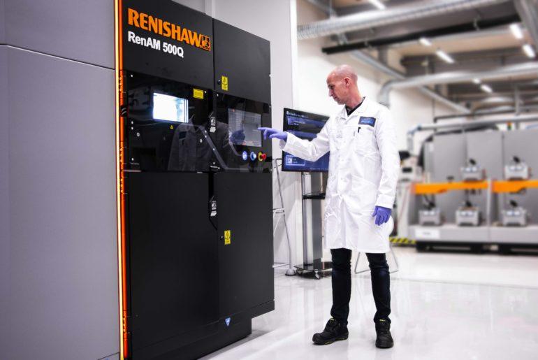 Renishaw restrukturalizovala svůj byznys, zaměří se na vícelaserový 3D tisk